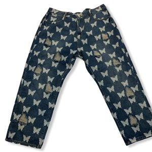 Shein Curve Butterfly Jeans 3x